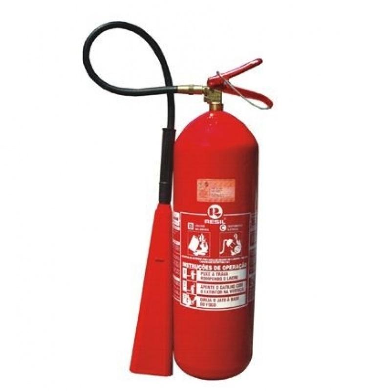 Extintor de Incêndio Co2 em Parelheiros - Extintor de Incêndio Co2