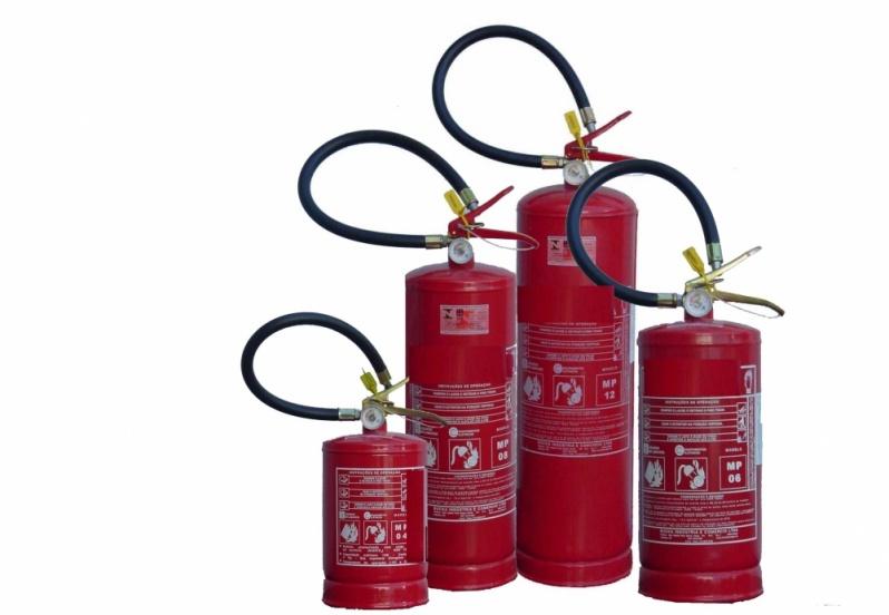Extintor de Incêndio na Parada Inglesa - Pintura de Extintores