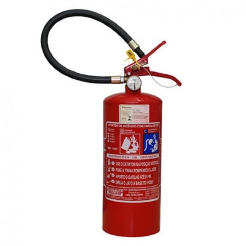 Extintor de Pó Químico no Campo Belo - Extintor de Incêndio