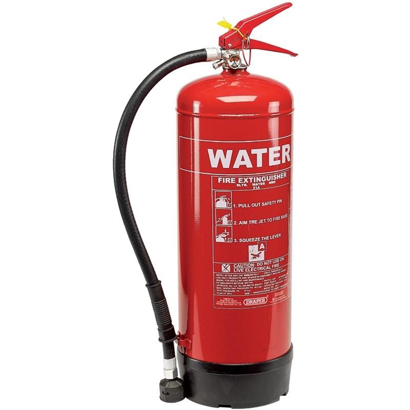 Extintores de água Pressurizada em Praia Grande - Extintor de água Pressurizada