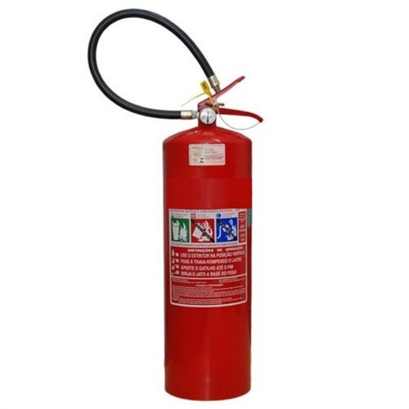 Fábrica de Extintor de Pó Químico na Vila Buarque - Extintor de Incêndio Co2