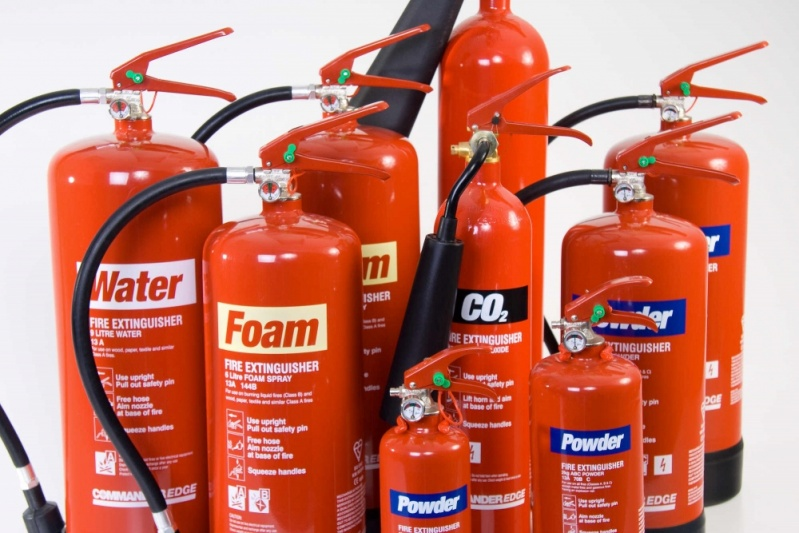 Quanto Custa Pintura de Extintores em São Domingos - Extintor sobre Rodas