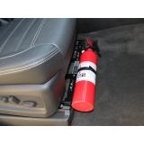 extintor de incêndio para carros no Parque do Carmo