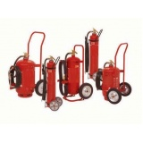 extintor sobre rodas no Jabaquara