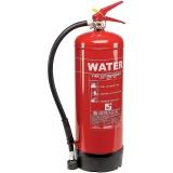 extintores de água pressurizada na Serra da Cantareira