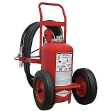extintor sobre rodas