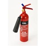 quanto custa extintor de incêndio co2 na Água Branca