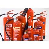 quanto custa extintor de incêndio em Cananéia