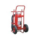 quanto custa extintor sobre rodas na Vila Anastácio