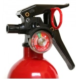 quanto custa recarga de extintor de incêndio em São Domingos