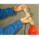 recarga e manutenção de extintores na Liberdade