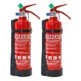 suporte de solo para extintores de incêndio no Limão